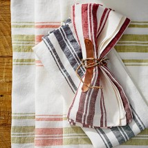 William Sonoma French Striped Napkins