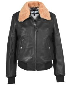 Schott Leather Bomber