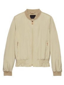 Banana Republic Life in Motion Bomber