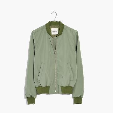 Madewell Side Zip Bomber