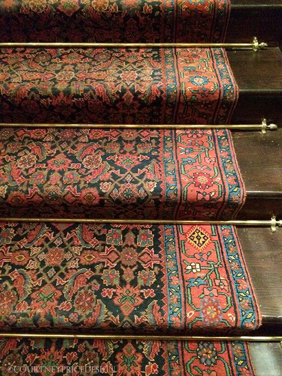 Ralph Lauren Store Stair Runner
